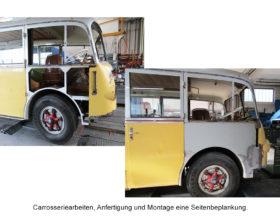 Carrosserie-Schaeden an Fahrzeugen